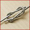 quick-lock Brockton MA, baling wire, single loop, quick lock wire