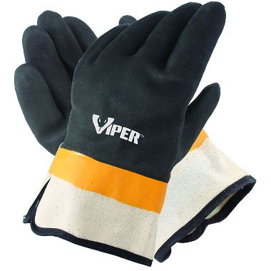 double coated PVC gloves
