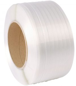 machine grade poly strapping white