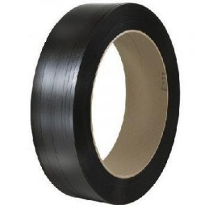 hand grade poly strapping black